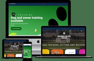 Dog Walking Web Site